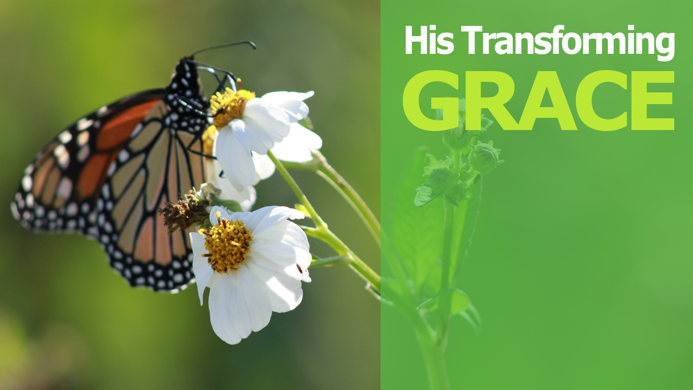 His Transforming Grace