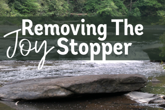 Removing the Joy Stopper